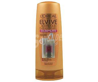 Elvive L'Oréal Paris Crema suavizante nutritiva para cabellos secos con aceite extraordinario 400 mililitros