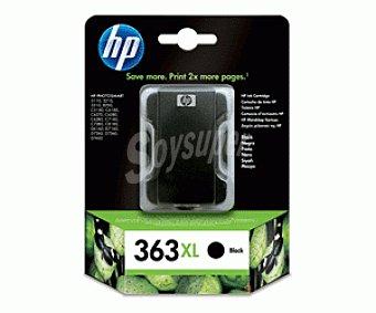 HP Cartuchos de Tinta 363XL Negro HP (C8719E) 1 Unidad- Compatible con: Impresoras 1 Unidad