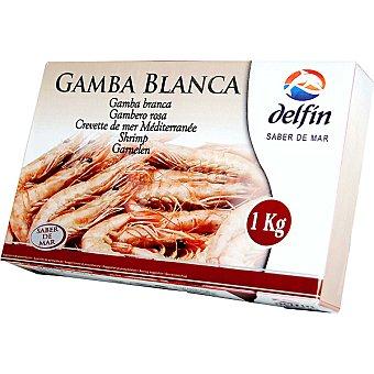 Delfín Gambla blanca del Mediterráneo cruda 120-150 piezas Estuche 1 kg