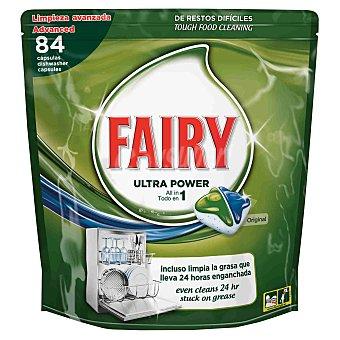 Fairy Ultra Power detergente lavavajillas todo en 1 original envase 84 pastillas envase 84 pastillas