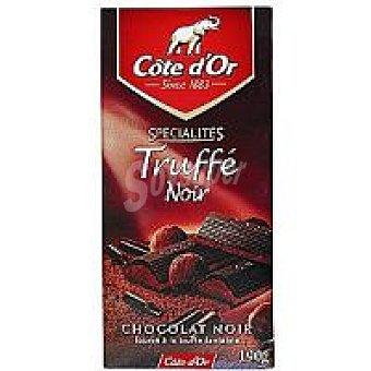 Chocolate Truffe negro côte d`or Tableta 190 g