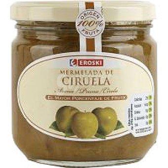 Eroski Mermelada de ciruela 100% fruta Tarro 300 g