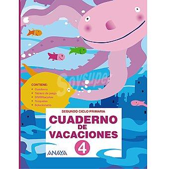 ANAYA Cuaderno de vacaciones repaso 4º primaria