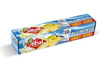 Albal Papel de aluminio rollo 100 m 1 caja