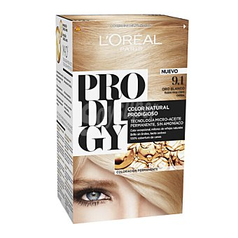 Prodigy L'Oréal Paris Tinte coloración extraordinaria nº 9.1 Oro Blanco Rubio muy claro 1 ud