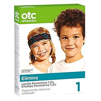 Ferrer Otc antipiojos pack permetrina 1,5% Pack 2x125 ml