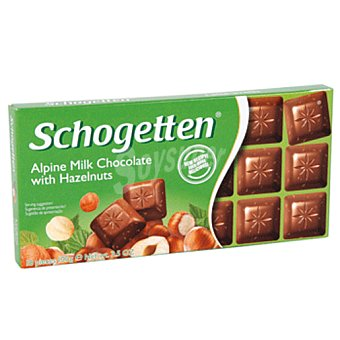 SCHOGETTEN Chocolate con avellanas Tableta 100g
