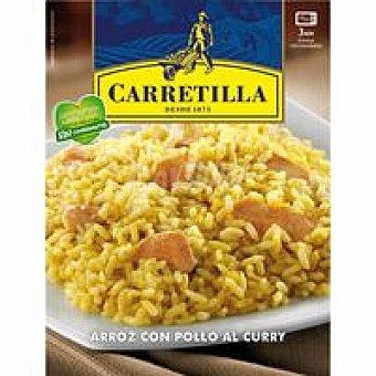 Carretilla Arroz al curry Bandeja 300 g