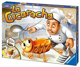 RAVENSBURGER Juego de Mesa Infantil La Cucaracha, de 2 a 4 Jugadores 1 Unidad