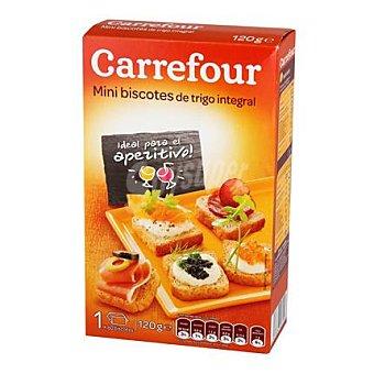 Carrefour Mini biscottes integrales 120 g
