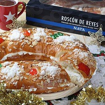 Carrefour Roscón grande con nata 1300 gr