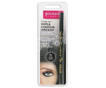 Bourjois Paris Contorno de Ojos Ultra Black T71 khol&contour 1 Unidad