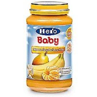 Hero Baby Tarrito de plátano, mandarina y pera Tarro 250 g