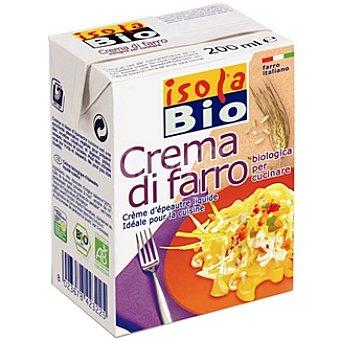 Isolabio Qbio Crema de espelta para cocinar ecológica Envase 200 ml