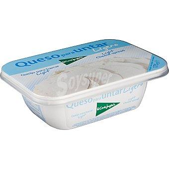 El Corte Inglés Crema de queso ligero Tarrina 175 g