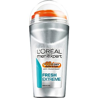 Men Expert L'Oréal Paris Desodorante roll-on Fresh Extreme anti-transpirante Envase 50 ml