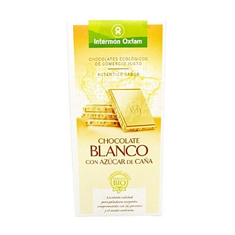 Intermón Oxfam Chocolate blanco 100 g