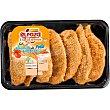 Extratiernos solomillo de pollo marinado empanado sin gluten Bandeja 400 g ElPozo