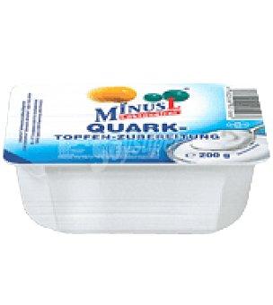 MinusL Queso Quark Natural Sin Lactosa para untar 200 g