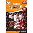 Encendedor mini Rolling Stones Blister 3 unidades Bic