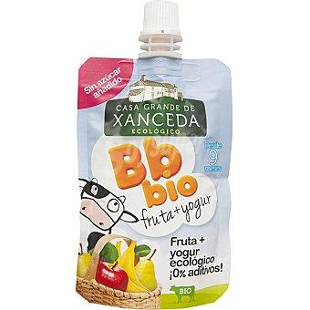 Casa Grande de Xanceda Zumo de frutas con yogur ecológico Bb Bio envase 90 g
