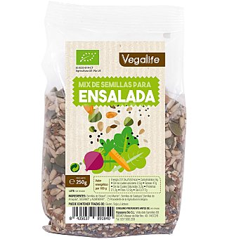 Vegalife Mix de semillas para ensalada 250 g