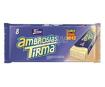 Tirma Galletas tipo ambrosías cubiertas de chocolate blanco 8 uds.172gr