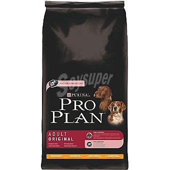Pro Plan Purina Alimento especial para perro adulto de cualquier tamaño con pollo y arroz Adult Original Bolsa 14 kg