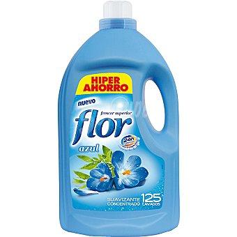 Flor Suavizante concentrado frescor Azul con micro capsulas Botella 125 dosis