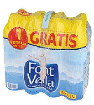 Font Vella Agua sin gas Pack 8 x 1,5 litros