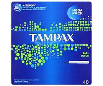 Tampax Tampones Cef Súper 48u