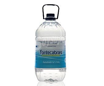 Fontecabras Agua mineral natural Garrafa de 5 litros