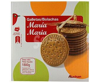 Auchan Galleta María Paquete de 1,8 kg