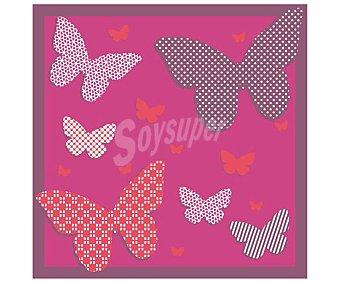 Actuel Servilletas desechables, estampado Butterfly, 33x33cm., doble capa 50 unidades