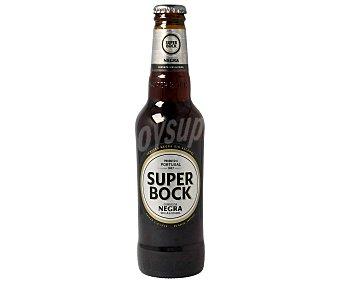 Superbock Cerveza negra portuguesa sin alcohol Botella de 33 centilitros