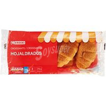 Eroski Croissant hojaldrado Paquete 252 g