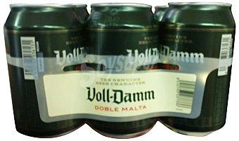 VOLL-DAMM Cerveza fuerte 6 unidades de 330 ml (1980 cc)