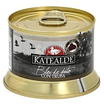 Katealde Bloc de foie grass de pato con trufa tarro 130 gr tarro 130 gr