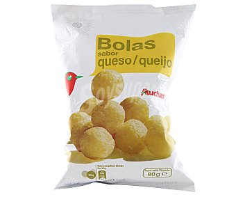 Auchan Aperitivo bolas con sabor a queso 80 gramos