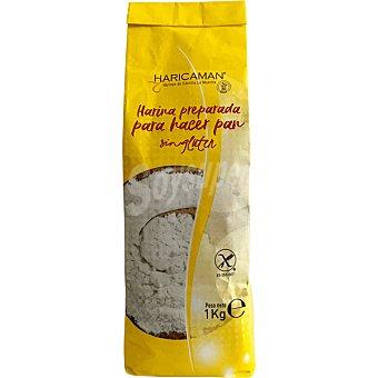 Haricaman Harina para hacer pan sin gluten Paquete 1 kg