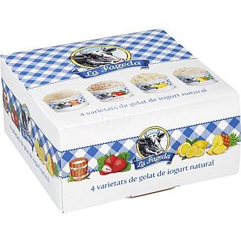La Fageda Tarrinas de yogur variado estuche 400 ml 4 unidades