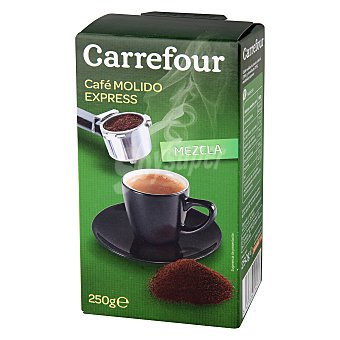 """Carrefour Café molido mezcla """"espresso"""" 250 g"""