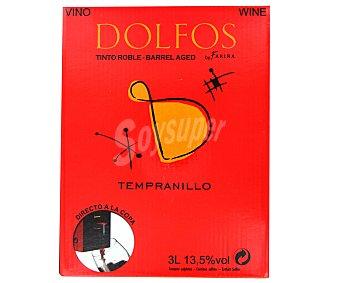 Dolfos Vino de la Tierra Castilla y León tinto roble 3 l