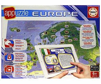 EDUCA Puzzles Surtidos de Mapas GeoPolíticos 1 Unidad