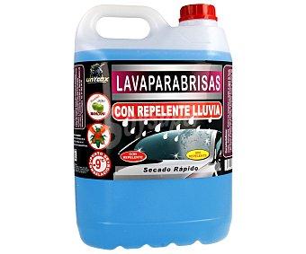 Unycox de líquido limpiaparabrisas con efecto anti-lluvia, anti-mosquitos y fresco olor a manzana unycox 5 litros