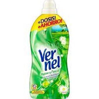 Vernel Suavizante concentrado higiene Garrafa 76 dosis
