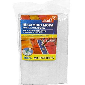 Aliada Recambio de mopa micrifibra abrillantadora 42 cm