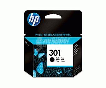 HP Cartuchos de tinta 301 (CH561E), Negro, compatible con impresoras HP: Deskjet 1000, 1050, 1050se, 2000, 2050, 2050se, 3000, 3050, 3050se, 3050ve, 1050A, 2050A, 2054A, 3050A, 3052A, 3054A