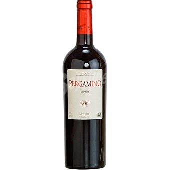 Pergamino Vino tinto crianza D.O. Rioja Botella 75 cl