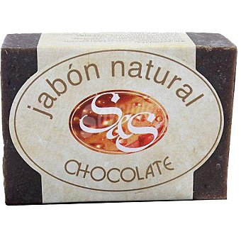 S&S pastilla de jabón natural de Chocolate pastilla 100 g